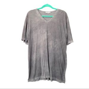 Cotton Citizen Acid Washed Soft V-Neck Tee